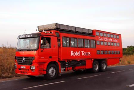 هتل کامیونی