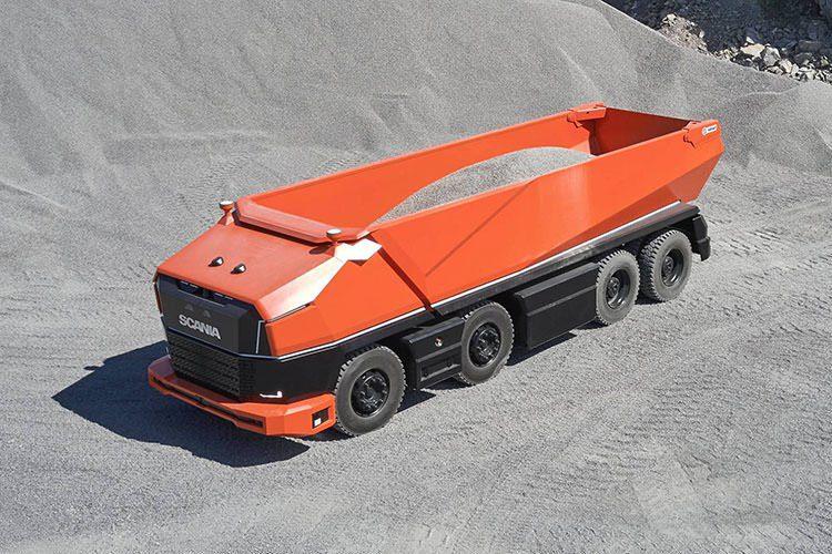 کامیون بدون کابین اسکانیا