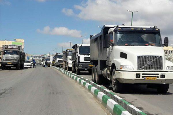 نرخ ورود کامیون