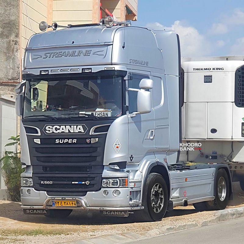 کامیون های اسکانیا