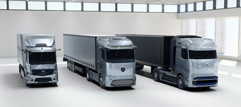 مجله جاده | رونمایی از کانسپت کامیونهای برقی مرسدس بنز؛ آینده حمل و نقل دنیا